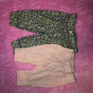 Bundle of newborn pants